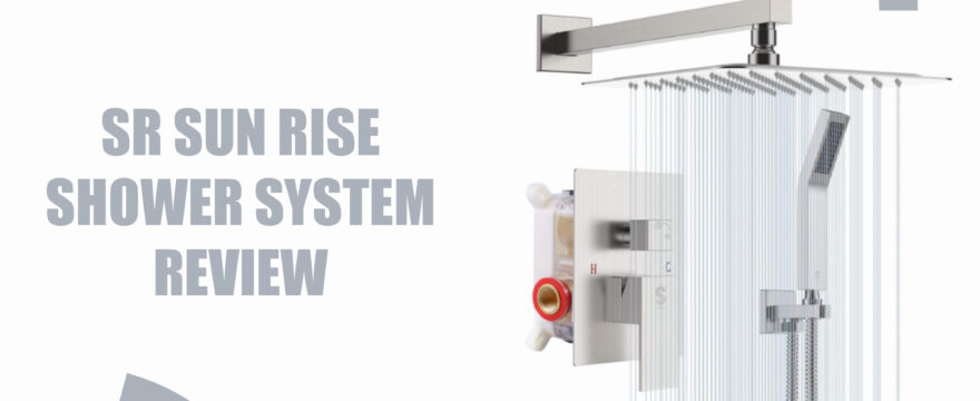SR sunrise shower system